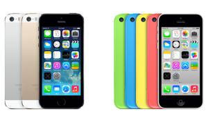 iphone 5sと5c