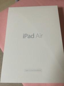 ipad air認定整備済み品