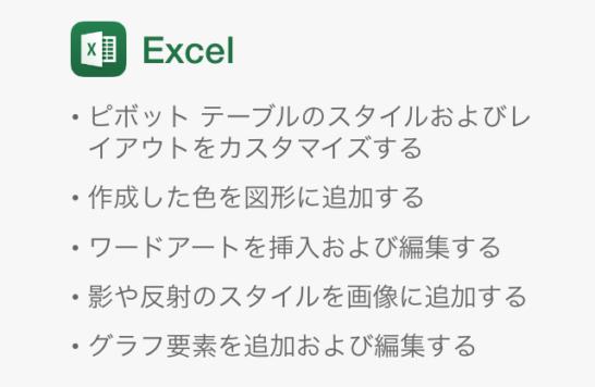 ios Microsoft Office Premium Excel