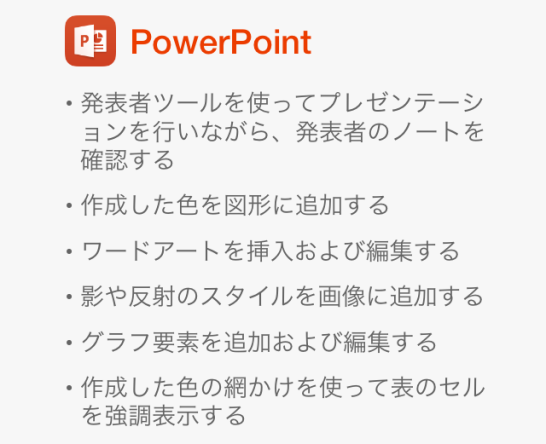 ios Microsoft Office Premium PowerPoint