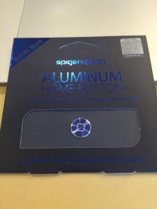 Spigen アルミニュウムホームボタン