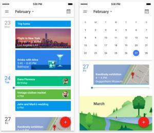 googleカレンダーアプリ