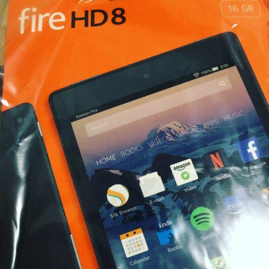 fire hd 8パッケージ