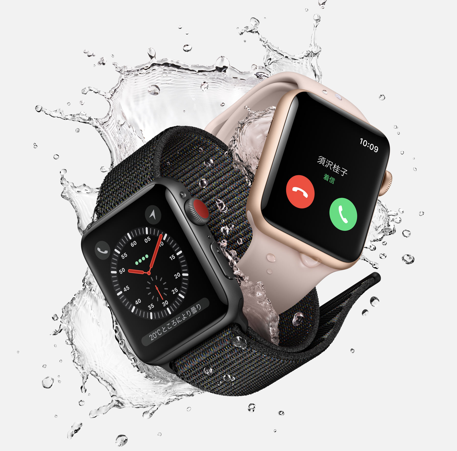 Apple Watch series 3 Cellularモデル