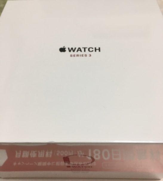 Apple Watch S3 箱