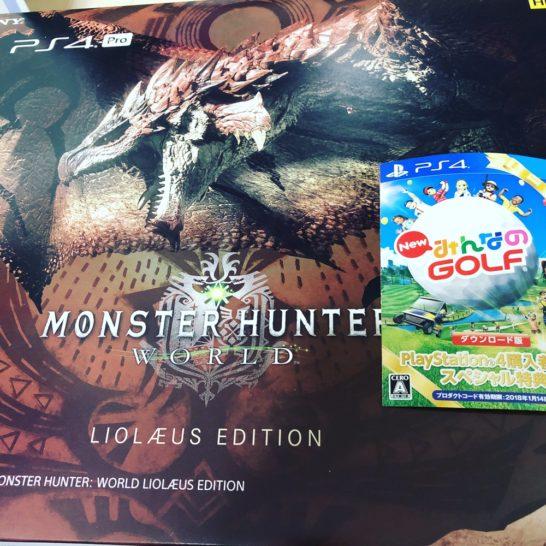 PS4 Pro モンスターハンターワールド リオレウスエディション