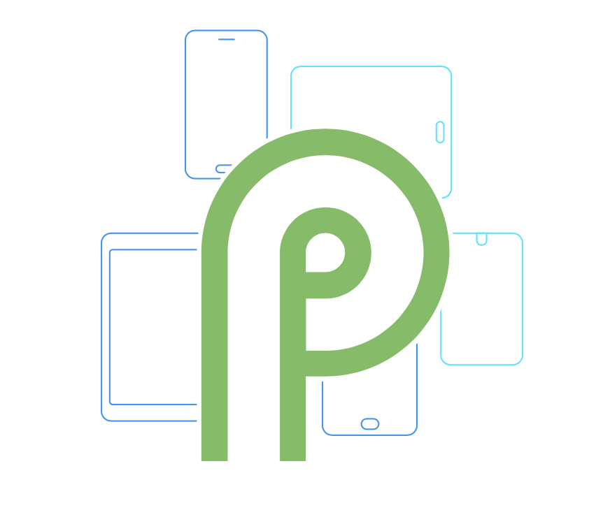 Android P ロゴ