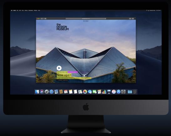 macOS mojave ダークモードブラウジング