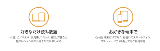kindle unlimited 概要