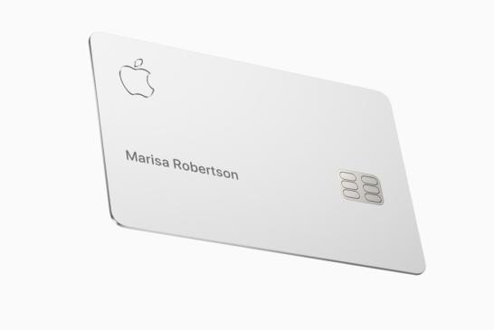 Apple Card チタニウムカード