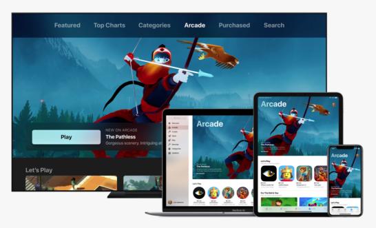 ゲームの遊び放題サービス、apple arcade