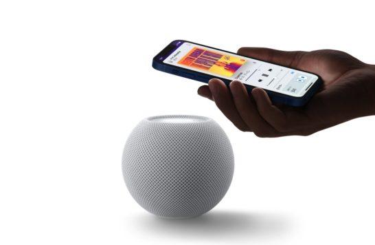 homepod miniにiPhoneで再生中の音楽を継続する機能